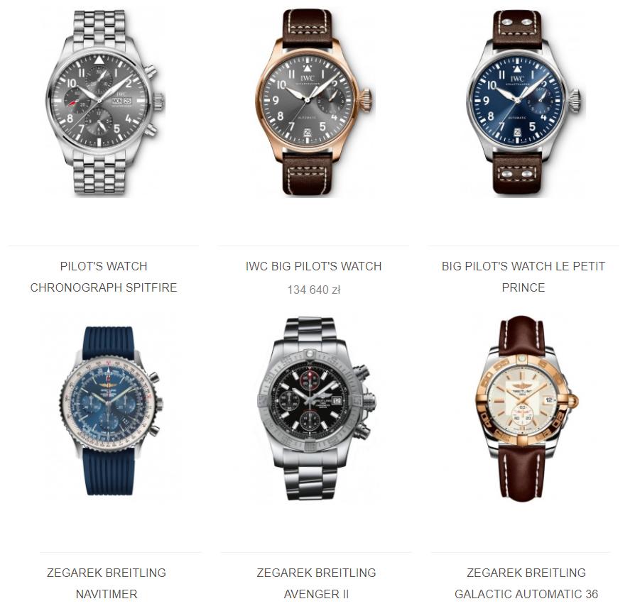 zegarki mechaniczne
