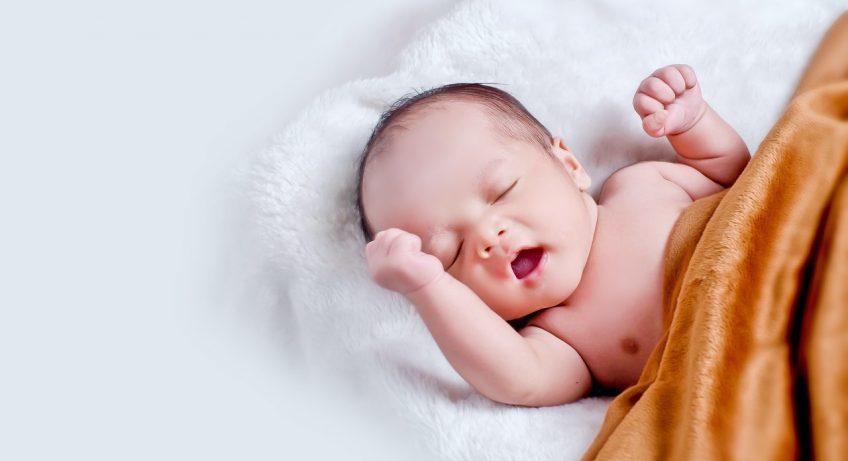 usypianie niemowlaka