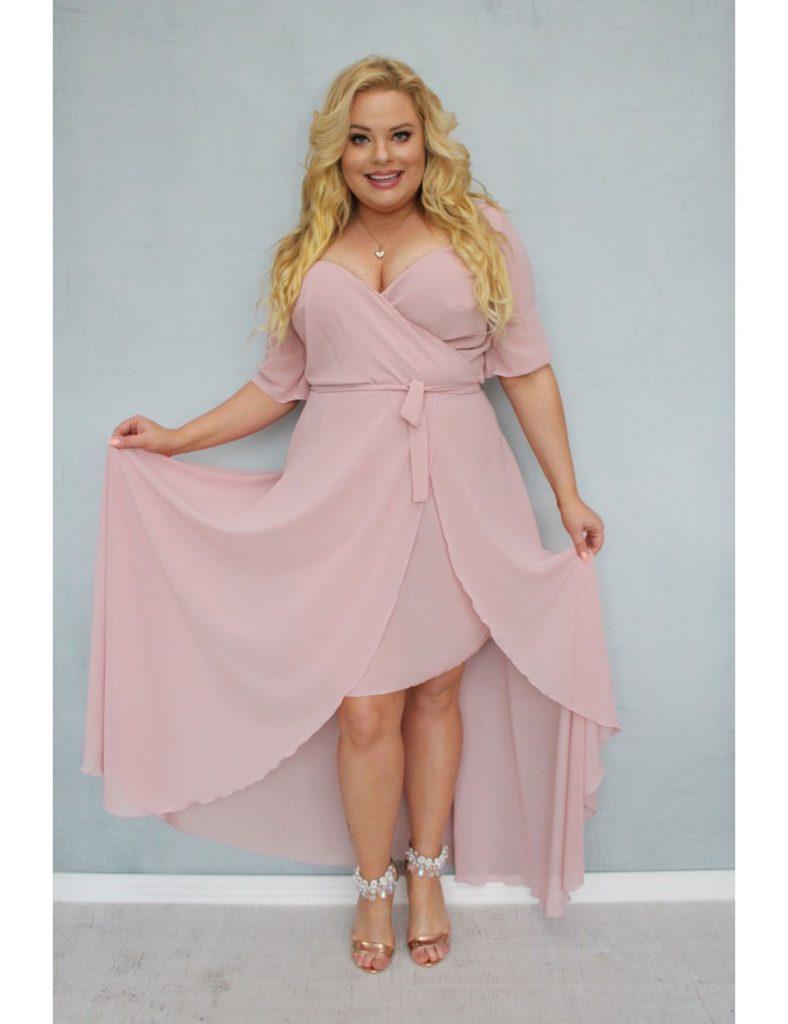 elegancka sukienka na wesele